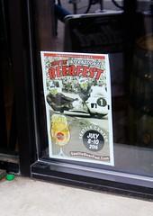 SeattleBeerFest.com (mightyquinninwky) Tags: seattle beer poster washington yum ad brewery ballard microbrew seattlewashington nwmarketst windowposter ballardbeercompany seattlebeerfestcom