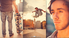 Outdoor & Sport (MaxMeissner) Tags: sunset portrait favorite face sport clouds jump skateboarding outdoor air gap ollie skateboard olly airtime hangtime