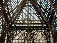 Gothic Metal (mikecogh) Tags: architecture gothic structure oxford curved complex beams pittriversmuseum