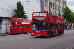 IMGP2746 (Steve Guess) Tags: city uk england bus london tour open top transport waterloo topless gb routemaster lambeth topper lt tfl aec rmf1254 254clt sightseeinf