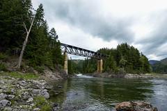 Train Bridge (roberts.alex37) Tags: bridge nature train bc wilderness fraserriver frasercanyon northbend beautifulbc explorebc