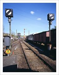rairoad heritage - part of series - 9 (macfred64) Tags: railroad 120 film mediumformat 645 railway slide chrome transparency 6x45 fujiprovia100f eisenbahnmuseumbochumdahlhausen fujiga645wi fujinon45mmf4 railroadheritage