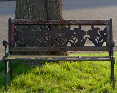 P5258170 (Paul Henegan) Tags: bench shadows highlights earlymorninglight 54crop