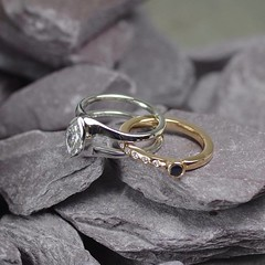 Gold and silver ring (loxy681) Tags: jewellery ring wedding engagement necklace jewellers eternity