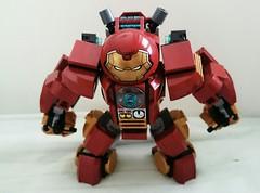 E.G.G. HulkBuster (danielhuang0616) Tags: man iron lego egg tony marvel stark 2016 mk45 hulkbuster