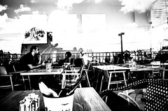 throw the looking glass (Ran Elmaliach) Tags: blackandwhite white black monochrome lines dark photography israel blackwhite background side surreal gr ricoh ricohgr strret ranelmaliach