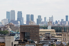 Southwark & Canary Wharf (Mikepaws) Tags: city uk greatbritain england urban money london tower skyline architecture skyscraper landscape europe cityscape skyscrapers unitedkingdom britain capital panoramic southbank canarywharf viewpoint financial citycentre banking centrallondon onecanadasquare greaterlondon