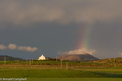 Rainbow, Bowmore, Islay (Ballygrant Boy) Tags: rainbow captured