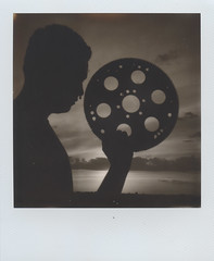 Function (benjaflynn) Tags: sunset shadow portrait blackandwhite bw male guy monochrome silhouette metal backlight youth clouds rural polaroid outside outdoors evening countryside daylight illinois spring friend emotion antique circles profile warmth gear sunny carlos machinery faded portraiture daytime grayscale youngadult cog instantcamera pola cloudporn earlysummer bigrock lookingwest expiredfilm roid septumpiercing plasticlens whiteborder fixedfocus instantfilm 600film thecountry scannedfilm primelens iso640 sunsetporn insta polalove blackandwhitesunset rurality jobpro2 integralfilm theprairie epsonperfectionv500 theimpossibleproject polaroidjobproii benseidelman impossiblefilm sauerfamilyprairiekame polaroid116mmlens impossibleblackwhite20 bw20edition expired316