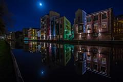 Wensum Reflections (waynedavey67) Tags: longexposure nightphotography reflection building architecture canon river lowlight norwich 6d wensun 1635mmlf4