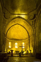 Abbaye de Snanque: l'glise abbatiale (bonacherajf) Tags: luberon abbaye snanque lubron cistrcien