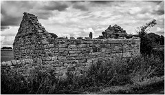 Stainton . (wayman2011) Tags: uk mono oldbuildings oldbarns derelict dales pennines lightroom countydurham teesdale bwlandscapes stainton canon50d wayman2011