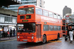 First Manchester 4970 (DWH 686W) (SelmerOrSelnec) Tags: bus manchester leyland fleetline gmt lut firstmanchester northerncounties piccadillybusstation dwh686w