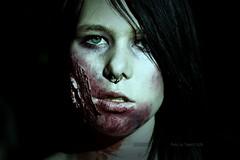 (Px4u by Team Cu29) Tags: gesicht zombie frau tote blick ulm zombiewalk ungeheuer epidemie verwesen verrotten untote zombiewalkulm