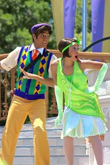 Tiana Tuesday (jordanhall81) Tags: world show park lake look amusement orlando friendship princess florida live stage character magic royal kingdom prince dancer disney frog resort vista theme actor faire cinderella tiana wdw walt performer mk alike buena mickeys naveen lbv mrff