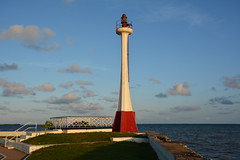 Belize City: Fort George Lighthouse (zug55) Tags: lighthouse belize caribbean belizecity centralamerica caribbeansea belice americacentral britishhonduras fortgeorgelighthouse