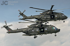AgustaWestland Merlin HC.3i & HC.3a (JCAviation) Tags: nikon aviation military airway yeovilton d7000