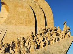 Monument to the Discoveries, Belem, Lisbon, June 2016 (leonyaakov) Tags: belem lisbon portugal travel monuments monastery capitalcity cathedral catholic citytour tower religion history memorial discovery inspiredbylove nikonflickraward