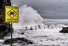 Run!!! (scotty-70) Tags: ocean sea storm water pool danger zeiss sony wave nsw a7 tidalpool oceanpool