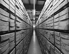DSCN0114 (clare.mcm) Tags: archive archives boxes vault shelving shelves indianajones