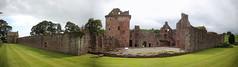 Edzell Castle (28) (arjayempee) Tags: edzellcastle angus forfarshire scotland castle towerhouse mounthpasses glenesk northesk lindsayofedzell earlofcrawford edzellcastlegardens stirlingofglenesk baronyofglenesk fortress courtyardcastle av6a544245stitch