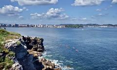 Xixn luminoso (Jaime Martin Fotografia) Tags: city sea landscape asturias gijon