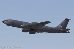 Az Air National Guard - Boeing KC-135 Stratotanker-2660 (rob-the-org) Tags: iso100 noflash cropped boeing departure f11 terminal4 phx phoenixaz kc135 stratotanker 170mm kphx arizonaairnationalguard 1160sec azang skyharborinternational gearinmotion parkingp8 topjune2016