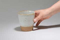 Tea-Bowl-white-brown-009 (cdkceramic) Tags: white cup ceramic tea bowl   cdkceramic