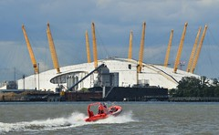 Rocket Junior (2) @ Greenwich 24-06-16 (AJBC_1) Tags: uk england london boat unitedkingdom greenwich o2 vessel rib riverthames eastlondon theo2 touristboat rigidinflatableboat londonribvoyages thamesrockets dlrblog rocketjunior ajc