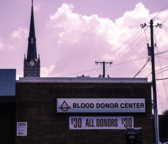 Blood Money (EX22218 - ON/OFF) Tags: red white signs brick clock church lines clouds blood flickr tennessee kentucky wires dell mostinteresting louisville healthcare vampires rabies anon invivo pharmaceuticals sincity symantec acd fda redbloodcells predators nwn smrgsbord derelictbuildings hepatitis ecoli leptospirosis cpd donor giardia measles hemophilia invitro tetanus ibbi rubella chappi vaccines twtme humanurine heparin listeria tenanus hepatitisa edta interstatebloodbank leukocytes vinch rawsewage wholeblood lovelycity cryptosporidium plateletrichplasma usfoodanddrugadministration traumaticinjuries gramnegativebacteria humanserum recoveredplasma matchedserum bloodforprofit cpda1 sourceplasma plasmaconcentrates plasmasamplesets humanplasma theinterstatecompanies plasmabiologicalservices symantecbackupexec