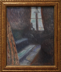 Edvard Munch - Night in Saint-Cloud 1893 (ahisgett) Tags: new york art museum met metropolitian