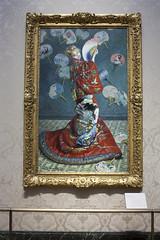 La Japonaise by Claude Monet - Boston Museum of Fine Arts (rfzappala) Tags: usa boston museum la united fine arts monet claude states massachussets 2016 japonaise