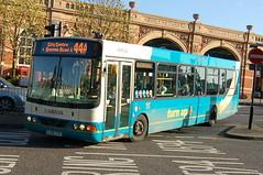 Arriva 3723 FJ06ZTK - Leicester (dwb transport photos) Tags: bus leicester wright commander arriva vdl 3723 fj06ztk