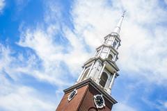 Park Street Church (sebastians0305) Tags: park street blue sky church boston azul arquitectura torre iglesia cielo nubes historia relog estados eeuu unidos massachusett
