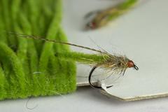 Chenille pupae (Masi Hast) Tags: flyfishing flytying