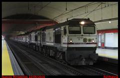 Al Andalus subterrneo (renfealvia) Tags: madrid espaa train de tren trenes al spain europa trains lujo 323 renfe nuevos ministerios 319 turstico chamartin andalus operadora 319319 319323 aranjuezchamartin