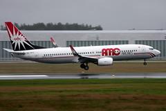 AMC Airlines SU-BPZ, OSL ENGM Gardermoen (Inger Bjrndal Foss) Tags: subpz amcairlines boeing 737 osl engm norway gardermoen