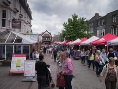 Keswick market (scottishchris) Tags: england holiday unitedkingdom lakedistrict cumbria gb keswick marketsquare