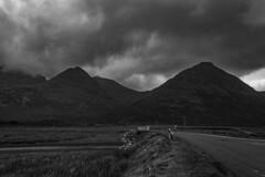 Clach Glas (Alex_Wyatt_Photos) Tags: uk bw white black mountains skye landscape scotland highlands cuillin