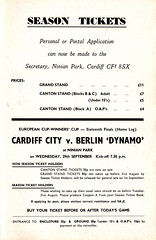 Cardiff City vs Burnley - 1971 - Page 17 (The Sky Strikers) Tags: park city two football official journal cardiff division league bluebirds programme burnley 5p ninian