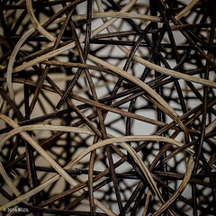 Turns & Twists! (BGDL) Tags: lamp lampshade twisted tangled niftyfifty saturdaytheme nikond7000 bgdl afsnikkor50mm118g flickrlounge lightroomcc
