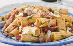 PRIMO PIATTO: RIGATONI MARI E MONTI (RicetteItalia) Tags: cucina piatti primi ricette