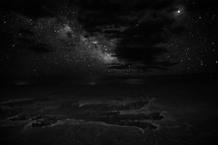 Canyonlands at Night (jpaulus) Tags: sky white black night clouds stars utah canyon canyonlandsnationalpark