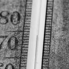 20160704_0733_7D2-100 Mercury Rising (186/366)  [Explored] (johnstewartnz) Tags: 7dmarkii canonapsc 100mm 7d2 apsc canon eos macro macromonday mercury thermometer periodictable project366 onephotoaday onephotoaday2016 hg quicksilver mono monochrome bw blackandwhite blackwhite squarecrop 366the2016edition 3662016 day186366 4jul16 100canon 3000v120f topten toptenviews toptenfavs