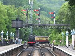 DSCF0897 (SierPinskiA) Tags: diesel pickering steamlocomotive grosmont northyorkshiremoorsrailway diesellocomotive preservationrailways fujixs1