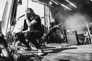 24/06/2016 - Underoath at Amnesia Rockfest // Shot by Lori Gutman