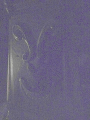 Hidden face in staircase moulding, Haunted Mansion, Disneyland, Anaheim, California (gruntzooki) Tags: california ca usa cali losangeles cal hm hauntedmansion