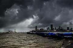 Id or Eid Day in Bombay (Anoop Negi) Tags: haji ali dargah mumbai bombay india maharashtra monsoon rains sunshine religious day id eid contrasts sea waters muddy dirty poor rich photo photography ezee123 anooop negi
