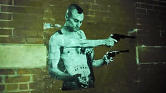 4 arm Travis Bickle-Taxi Driver by TOVEN (T0VEN) Tags: streetart art graffiti artist wheatpaste baltimore streetartist travisbickle taxidriver martinscorsese scorsese deniro robertdeniro toven