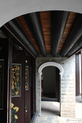 Doors and Passage (Canadian Pacific) Tags: building architecture hongkong estate chinese historic mansion  newterritories  yuenlong   santin taifutai   wingpingtsuen wingpingvillage taifudai aimg9502
